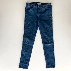 4/$25 Forever 21 Girls Blue Jegging Jeans 11/12
